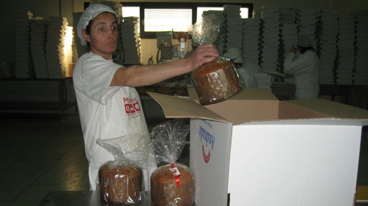 Fuerte helada en Guitiriz