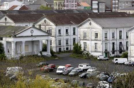 En la fotografía, vista parcial de las instalaciones del antiguo acuartelamiento Sánchez Aguilera.