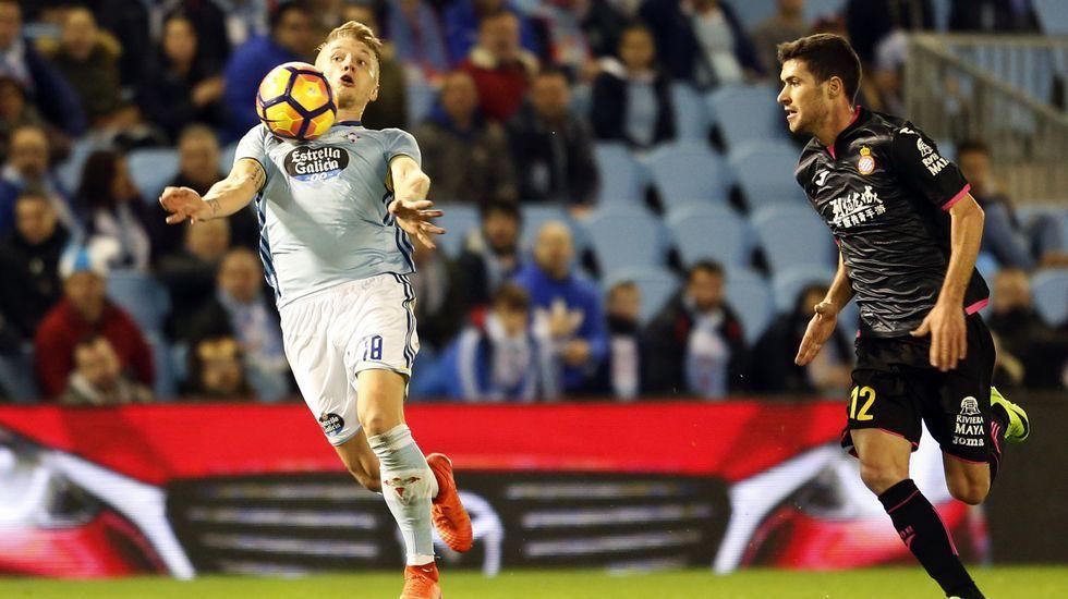 Las mejores imágenes del Celta - Espanyol