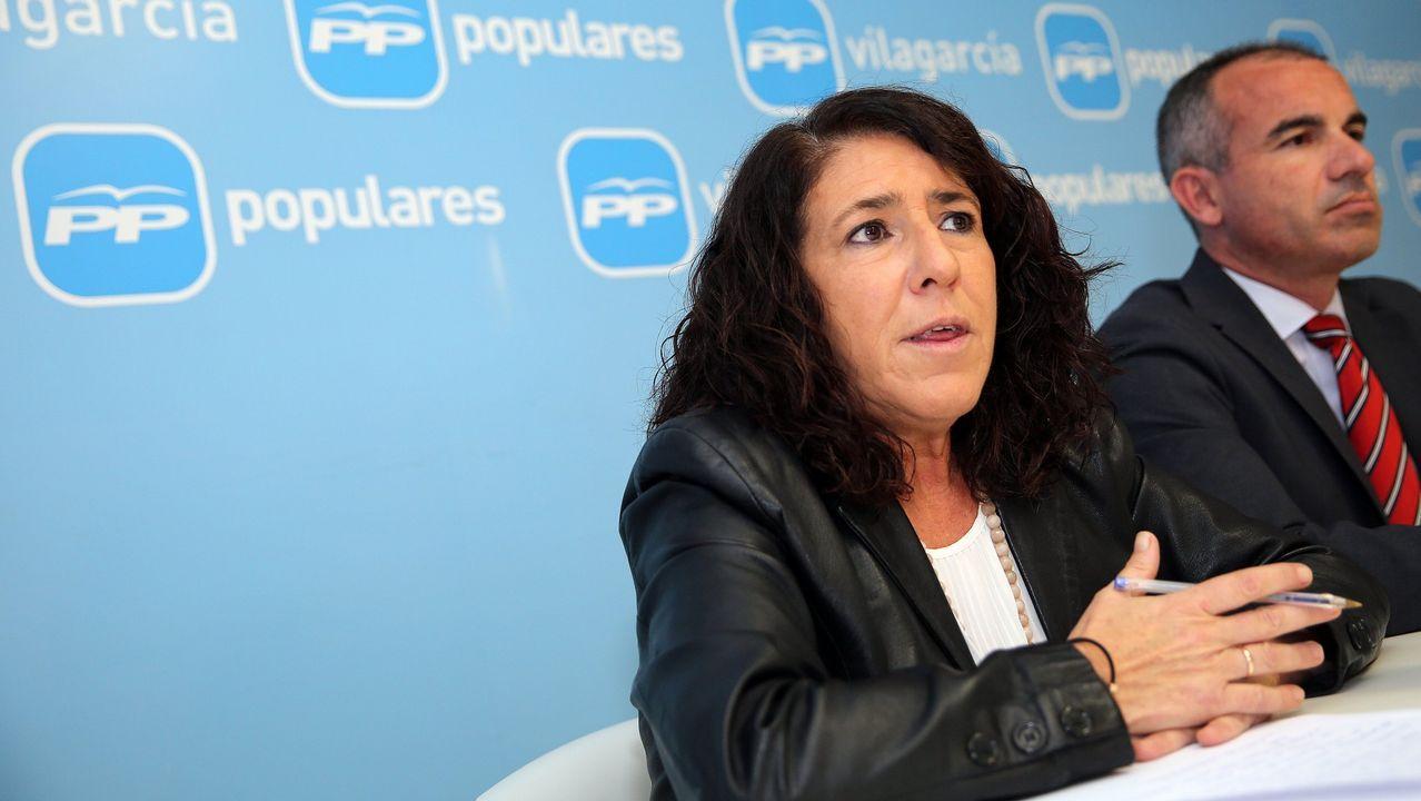 Vero Boquete, en una imagen reciente en Galicia