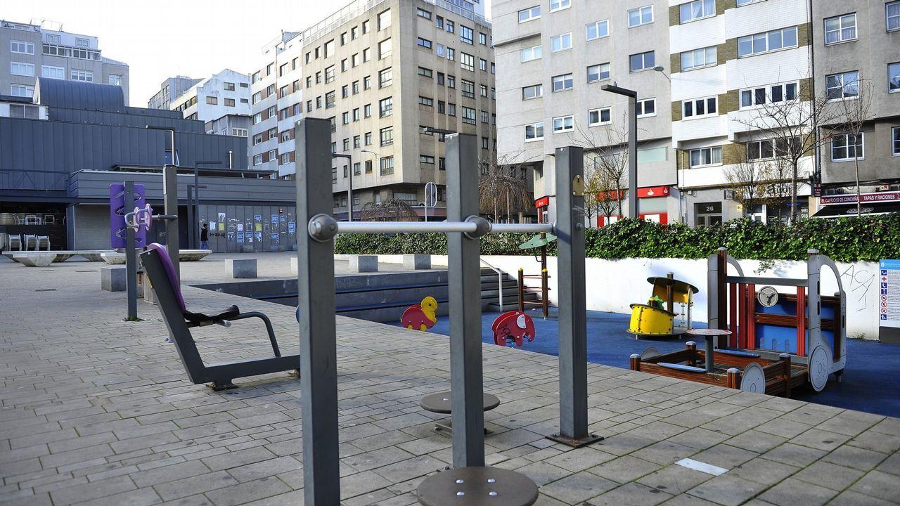 Parque de As Conchiñas en A Coruña