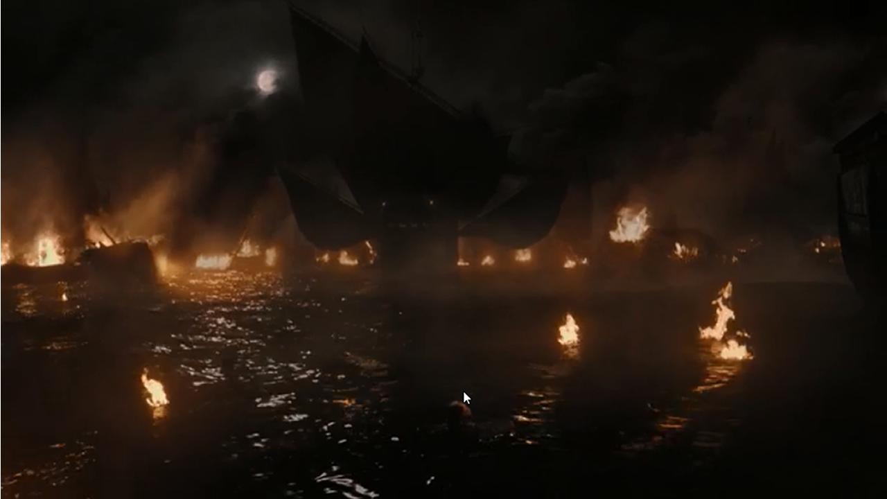 «Juego de Tronos» 7x03: La justicia de la reina.Batalla naval en el episodio 7x02 de Juego de Tronos