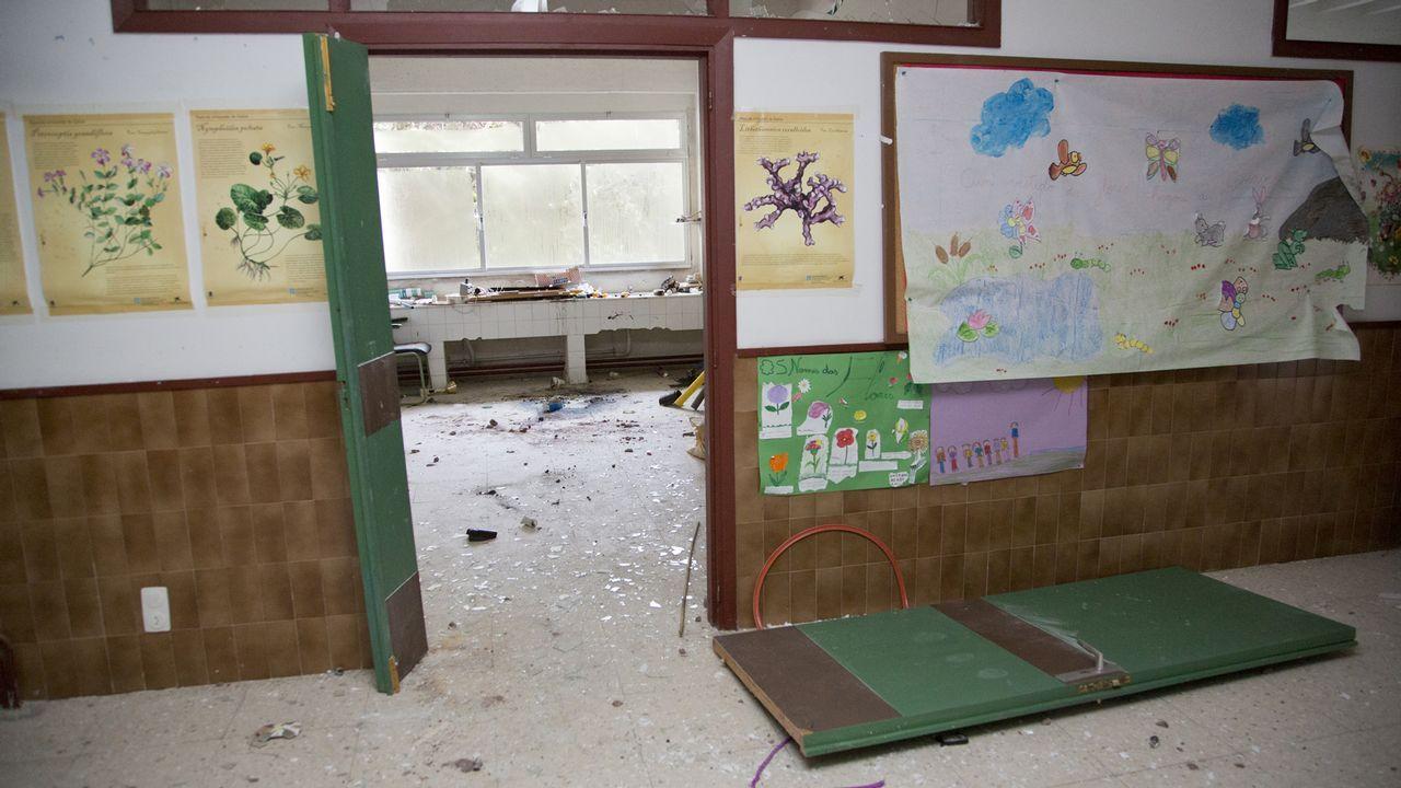 Vandalismo en el colegio Vilardíaz