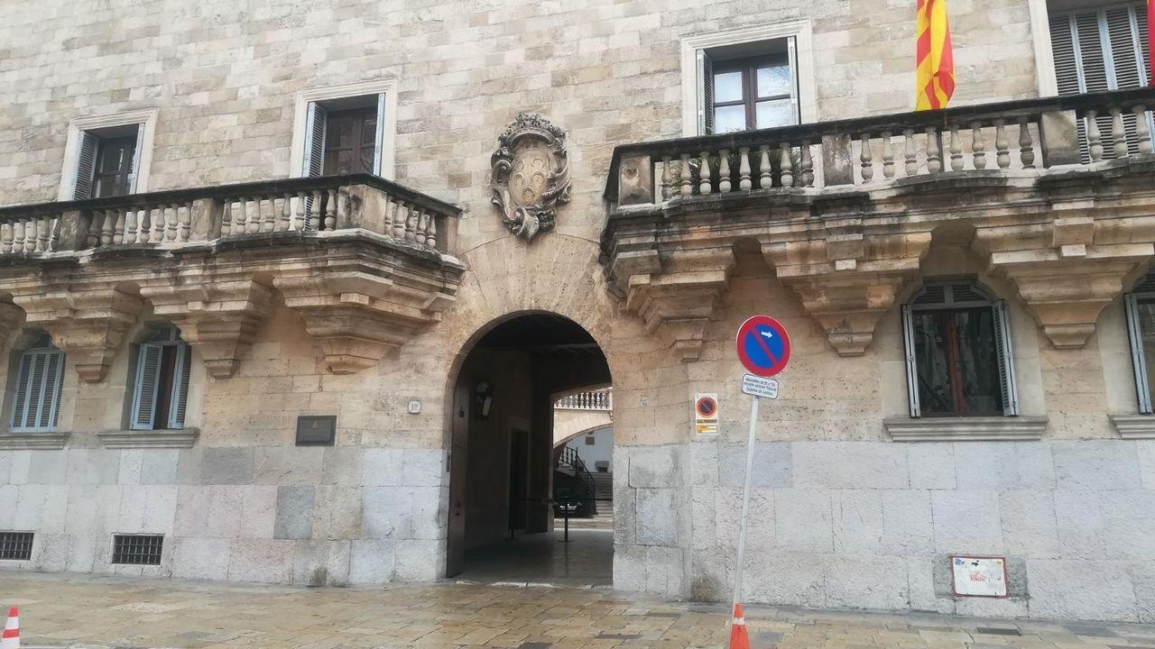 | Europa Press.Fachada del palacio de Justicia de Palma, donde se celebrará el juicio contra la mujer acusada de abusar sexualmente de su hijo discapacitado