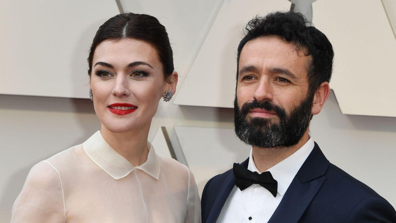 Los españoles Rodrigo Sorogoyen y Marta Nieto