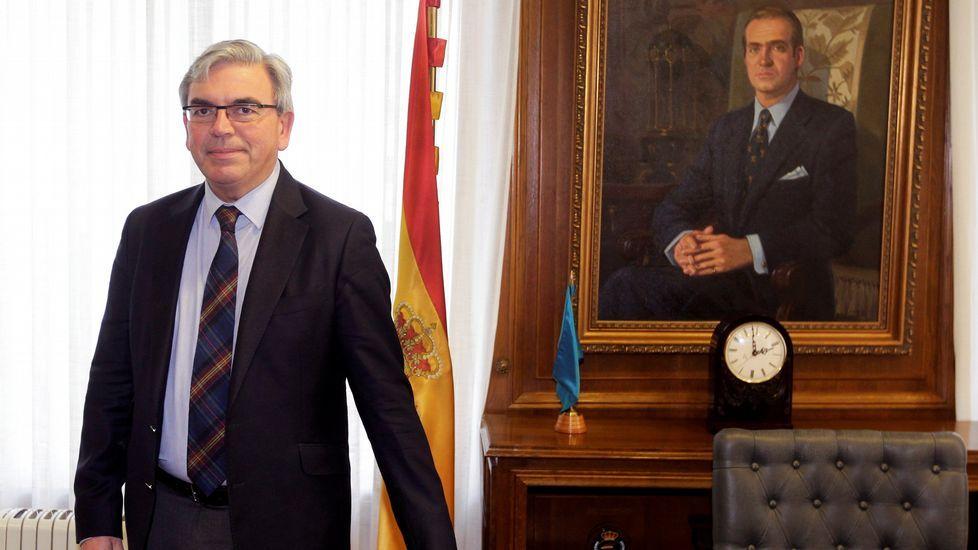 Mariano Marín.El nuevo delegado del Gobierno en Asturias, Mariano Marín
