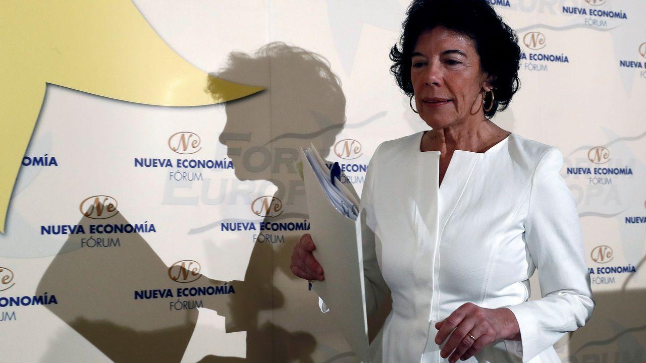 .La portavoz del Gobierno, Isabel Celaá