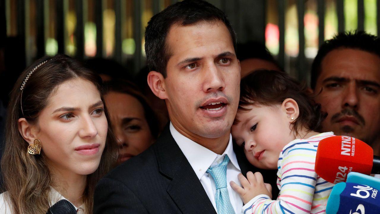 Guaidó denunció los intentos de intimidación por parte del régimen de Maduro