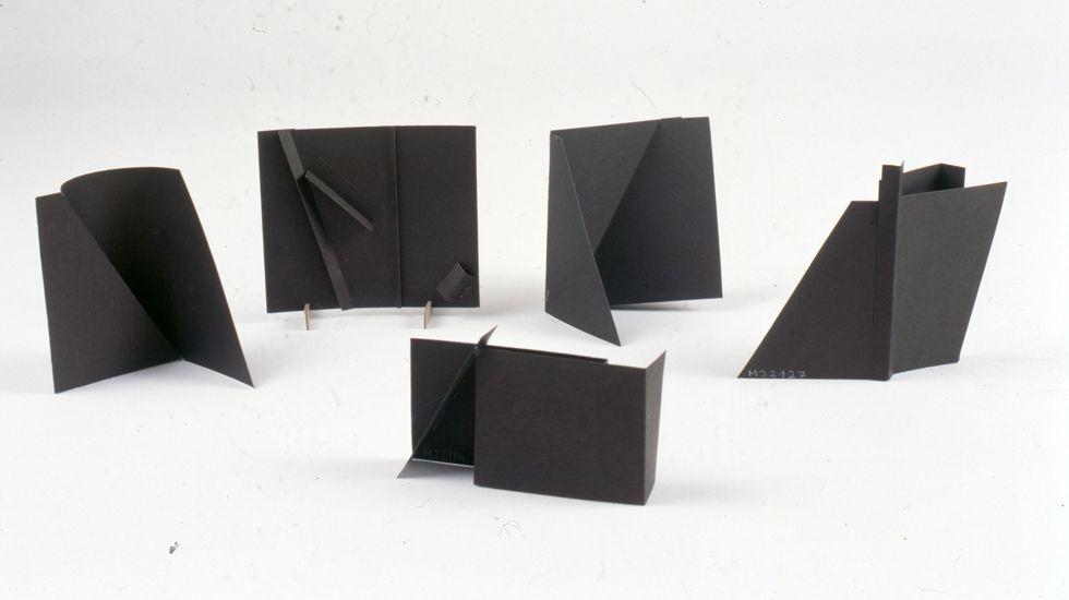 Maquetas de papel de Joaquín Rubio Camín