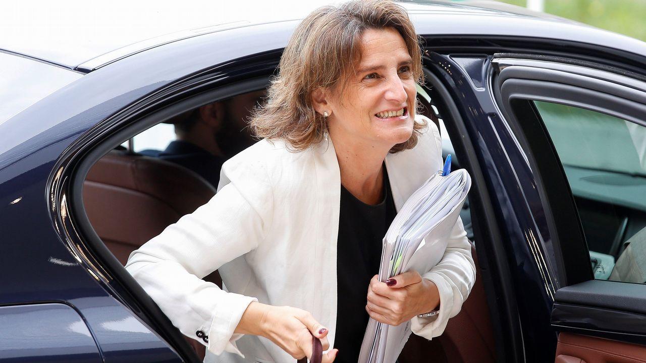 Ana Pontón se desplazó a Bruselas con las víctimas del Alvia