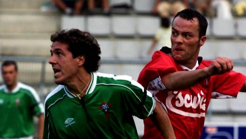 Las mejores imágenes de los partidos entre el Racing de Ferrol y el Compostela