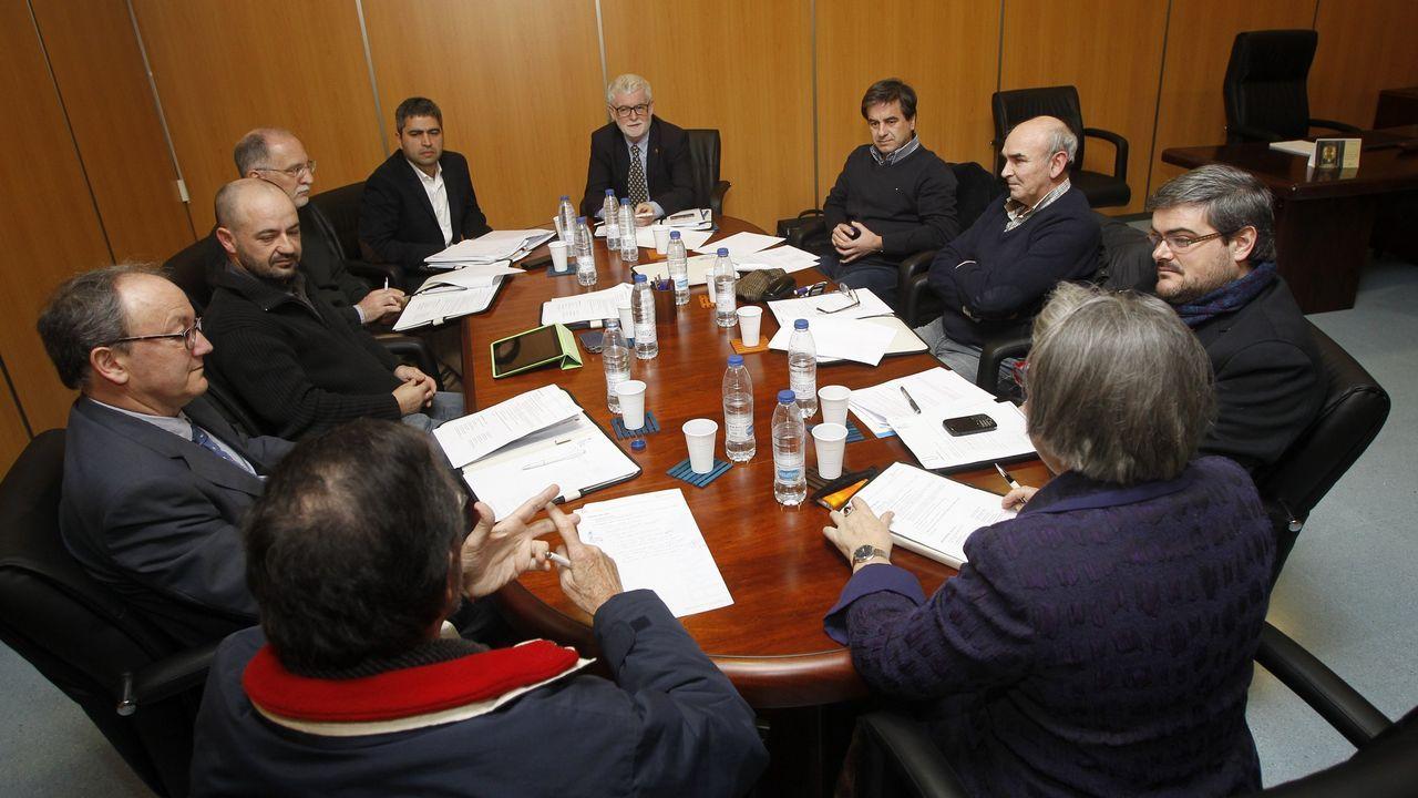 Imagen de archivo de la primera reunión del FREMSS