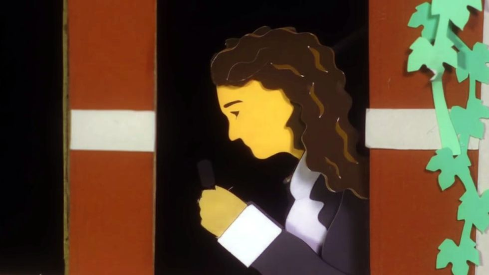Antoni Van Leeuwenhoek, homenajeado por Google.Muro de los inventores, en la sede coruñesa del Museo Nacional de Ciencia y Tecnología (Muncyt), donde se rinde homenaje a un centenar de españoles distinguidos por su trabajo en la innovación
