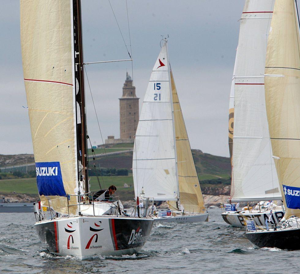 La travesía pasó por A Coruña en su edición del 2009.