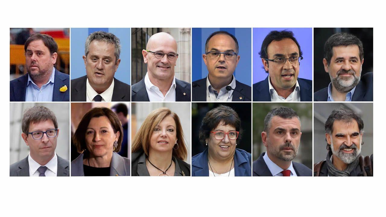 En directo y en streaming, el juicio del procés.El expresidente catalán Carles Puigdemont durante una rueda de prensa hoy en la delegación de la Generalitat en Berlín