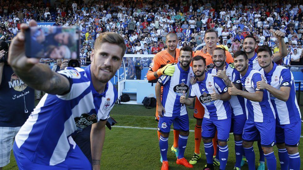Riazor vibra con los nuevos fichajes del Deportivo.