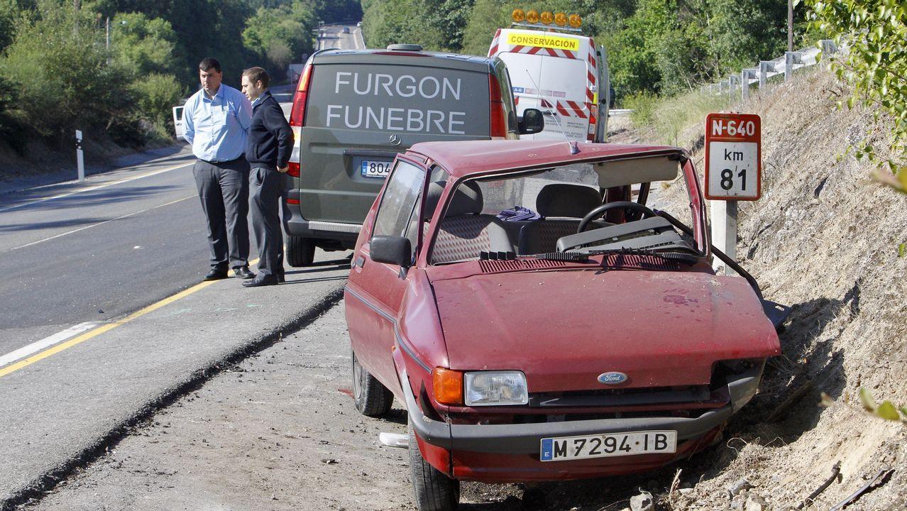 Accidente de tráfico en el km 81 de la N-640