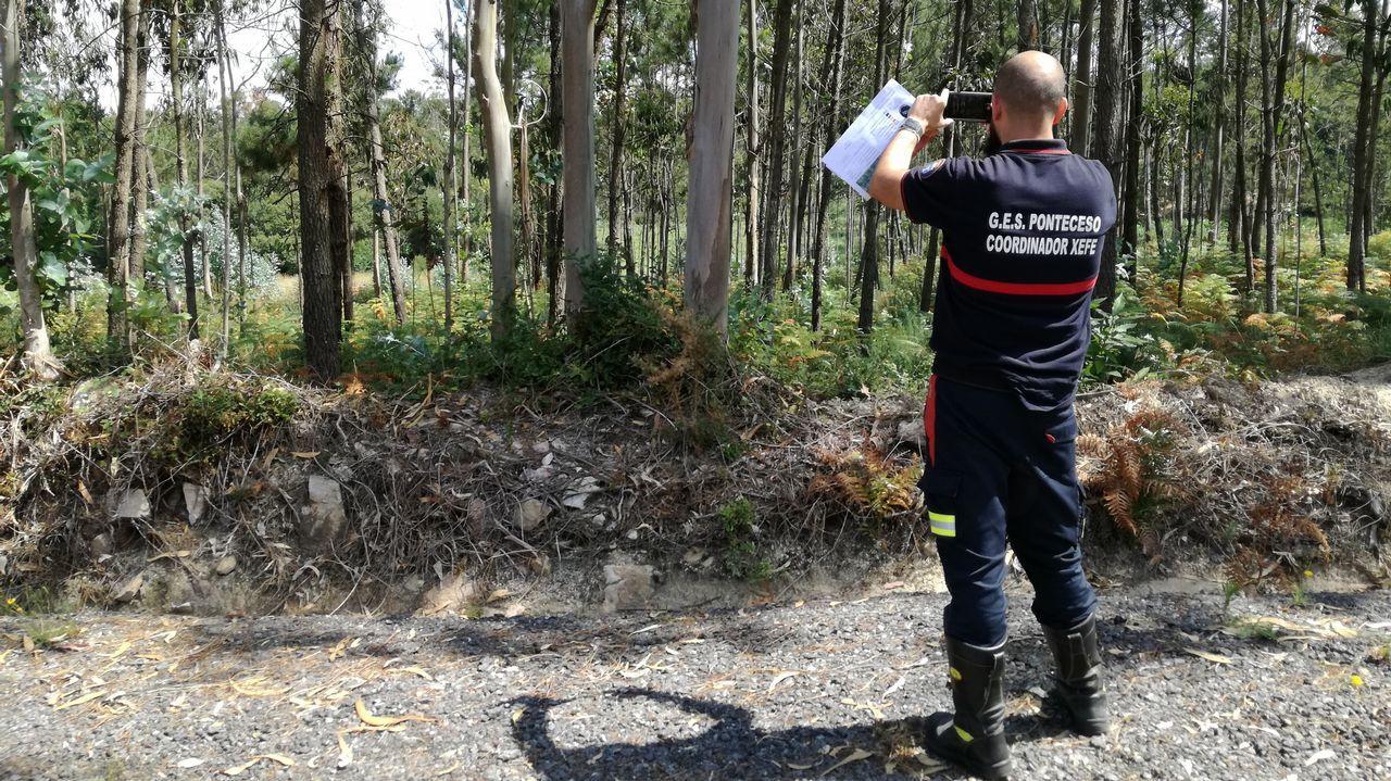 Ponteceso informatiza la prevención de incendios.