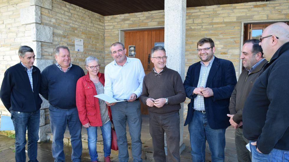 Un albañil de Lugo recupera la mano que se seccionó cortando madera