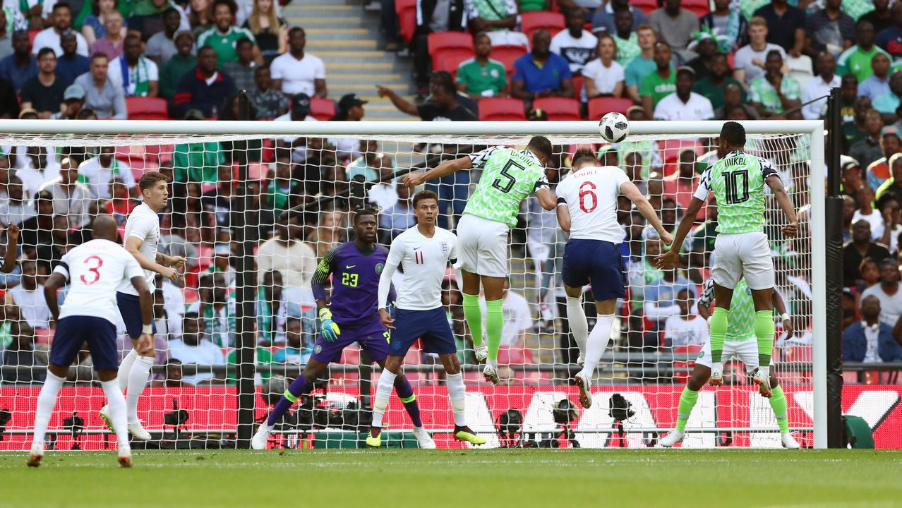 Resumen del Inglaterra - Nigeria