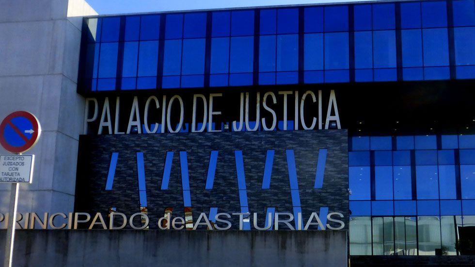 La fase de ascenso se queda en casa.Palacio de Justicia de Gijón