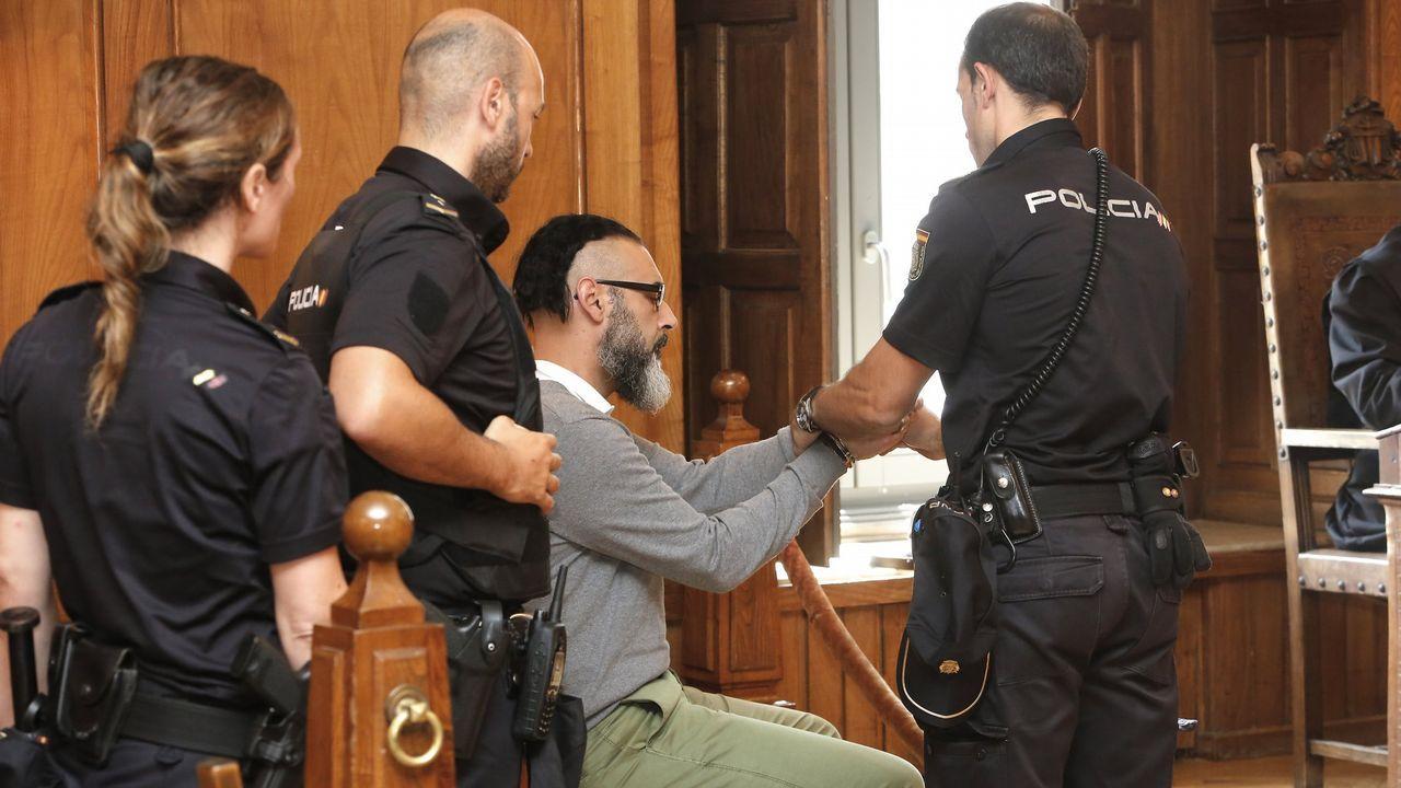 Suspenden el juicio contra Miñanco porque su abogado fumó un cigarrillo electrónico en sala