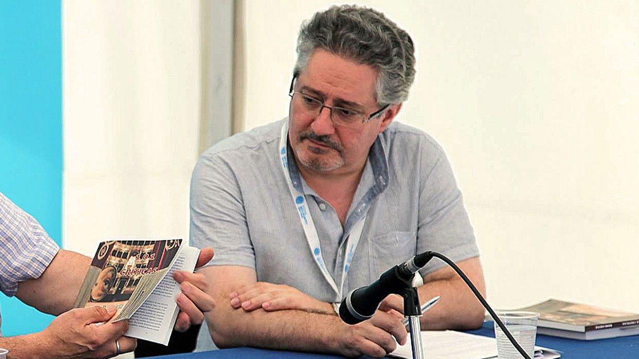 Segundo González (Podemos).Humberto Gonzali