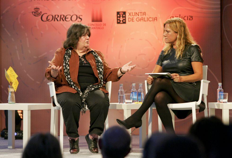 Carmen Estévez, hermana de Martin Sheen (izquierda), anunció la segunda parte de «The Way».