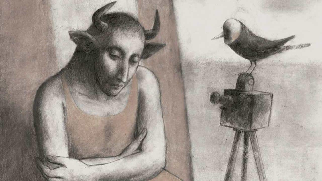Dibujo de «La feria abandonada», de Pablo Auladell, autor que ganó el Premio Nacional de Cómic con «El Paraíso perdido»