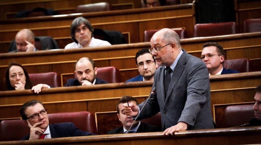 Oficina de empleo.El diputado de Ciudadanos y nuevo presidente del partido en Castilla y León, Francisco Igea