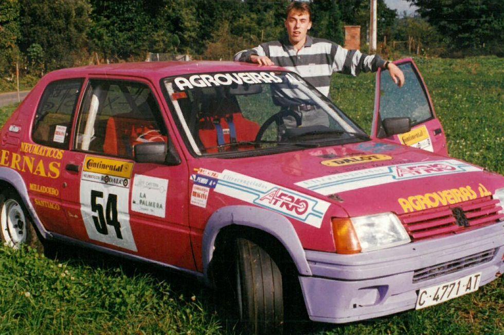 Las mejores imágenes del XXVI Rali Botafumeiro.Luis Penido debutó en competición con un Peugeot 205.
