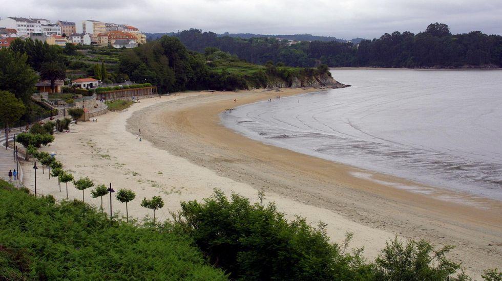 Miño. Playa de A Ribeira