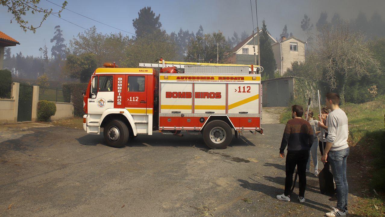 Incendio en Rianxo
