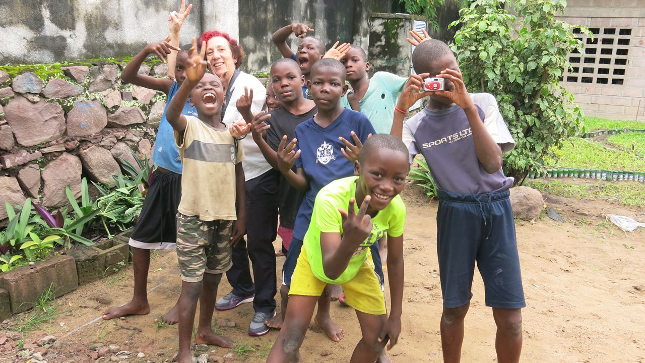 Centro de niños de la calle Bana ya Poveda