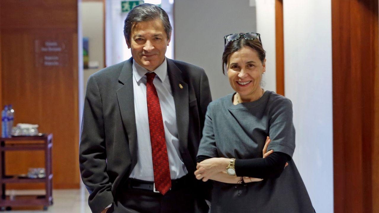 .Javier Fernández y Dolores Carcedo.