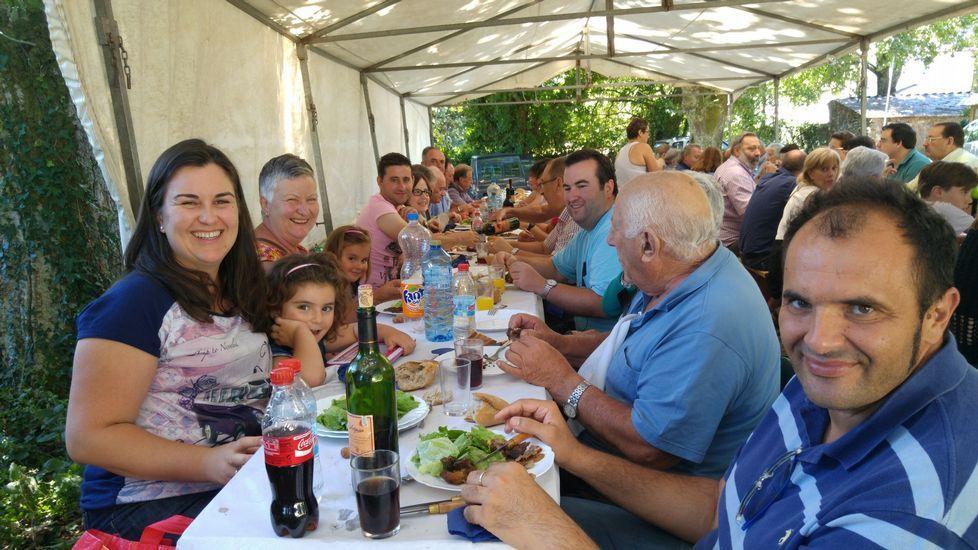 Fiesta del Carmen en Sirgueiros