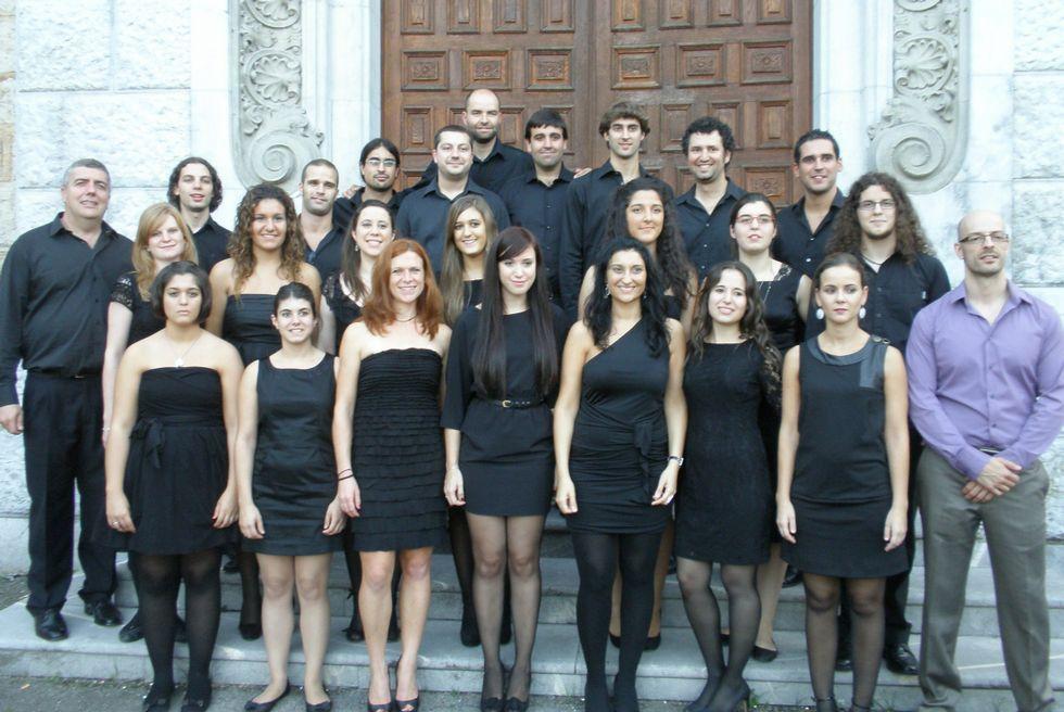 El grupo Concerto Vocal organiza el concierto.
