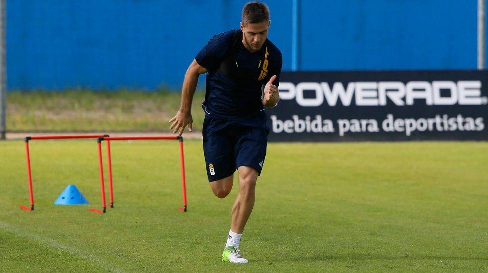 Pucko Real Oviedo Requexon.Pucko durante un entrenamiento