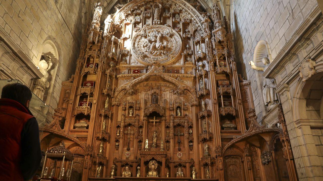 Las otras reliquias de Santiago.El primer ministro asutraliano Scott Morrison