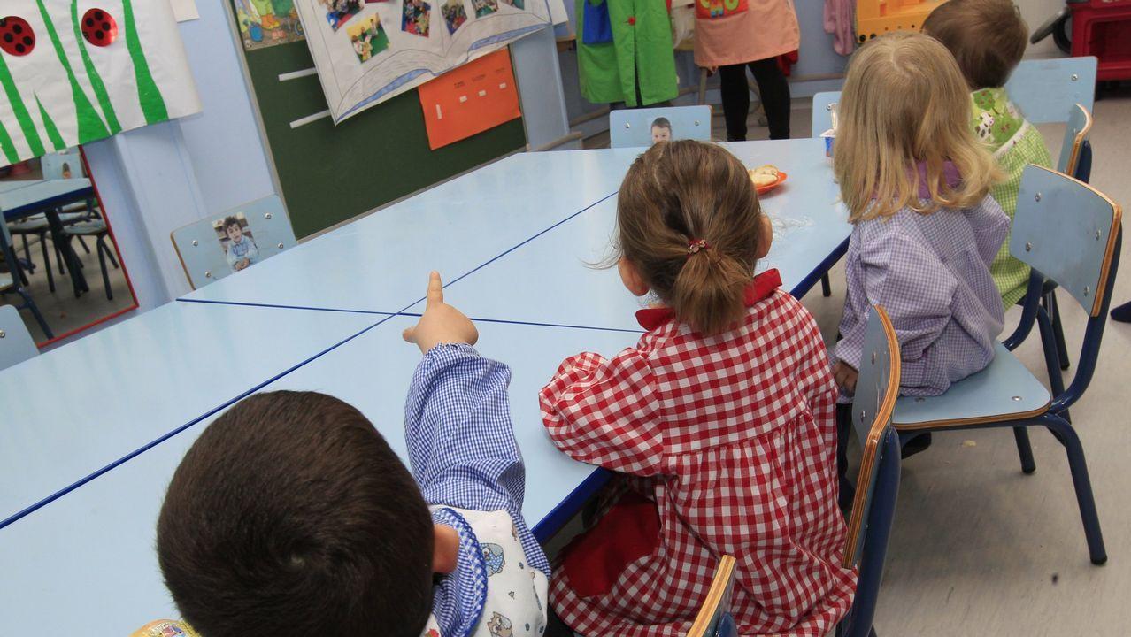 Imagen de archivo de unos niños en un colegio