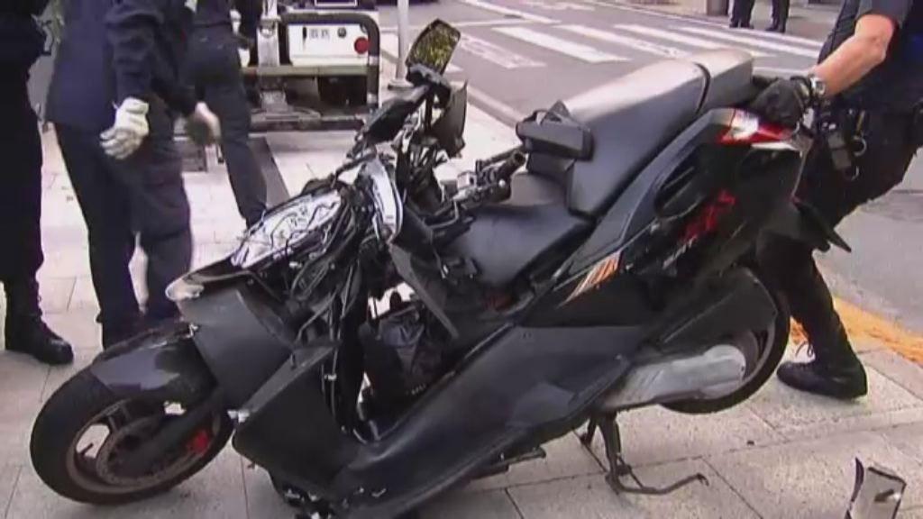 Muere en Vigo un motorista tras chocar con un coche