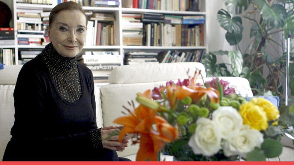 Dos humanistas de fuerte impronta mediática, candidatos al Princesa de Asturias.Nùria Espert