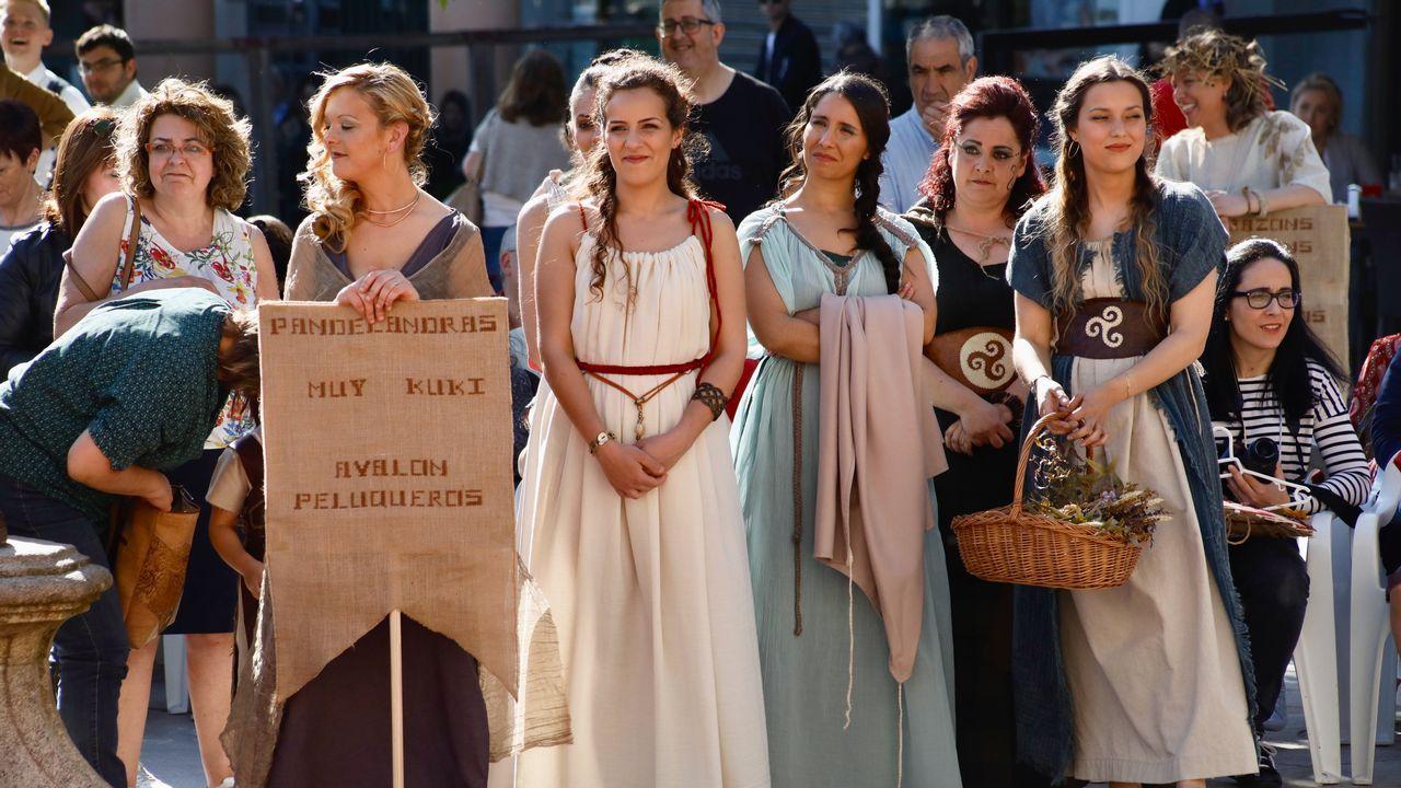 Desfile de moda para el Arde Lucus.