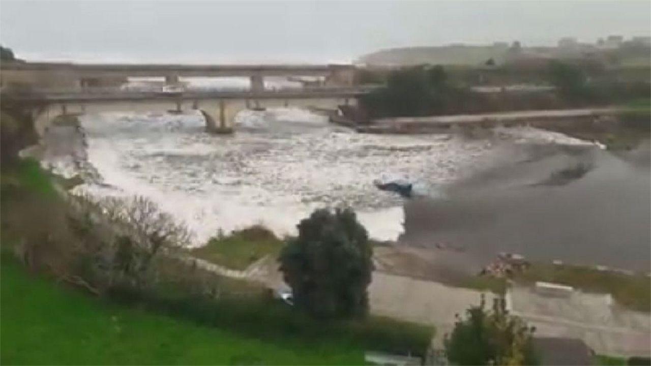 ¿Qué pasó en Foz? El extraño fenómeno del río Ouro.