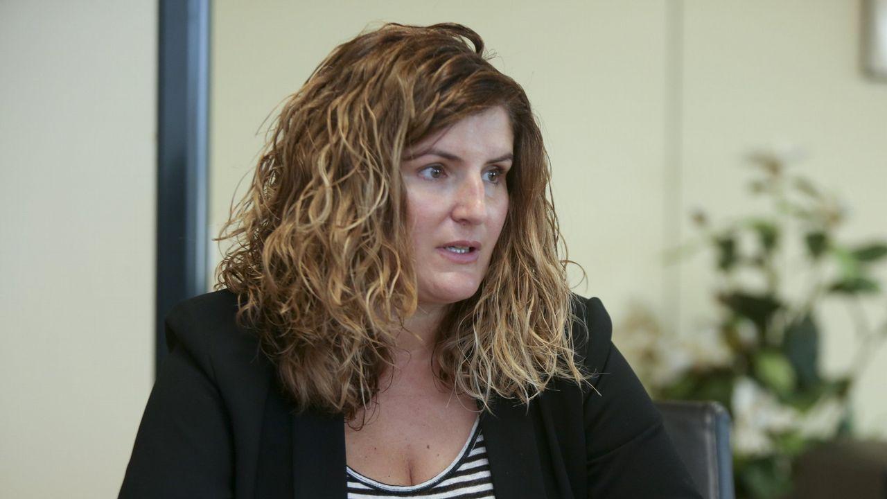 .Marián Ferreiro es la primera alcaldesa que tiene Narón