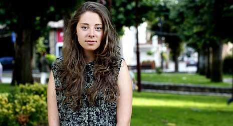 Ha nacido una nueva estrella en Youtube.Paula Sueiro, en Carballo.