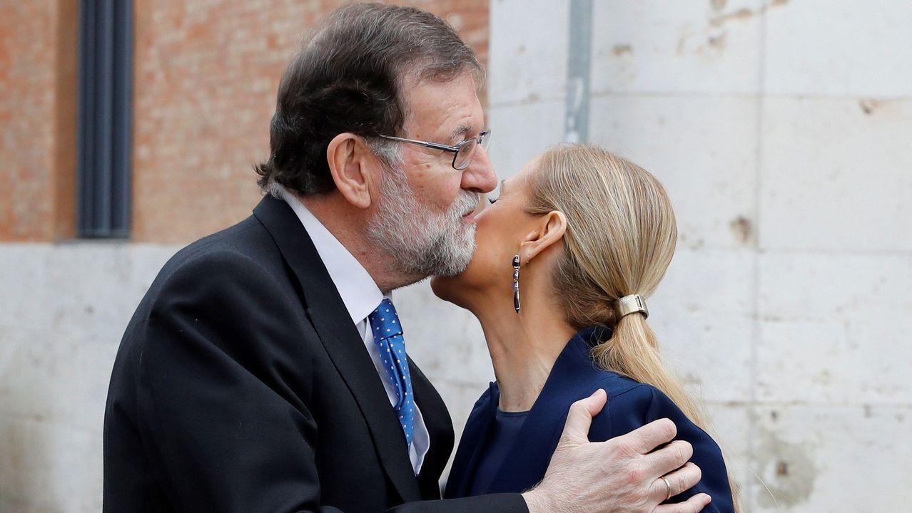 Ángel Garrido y Cristina Cifuentes