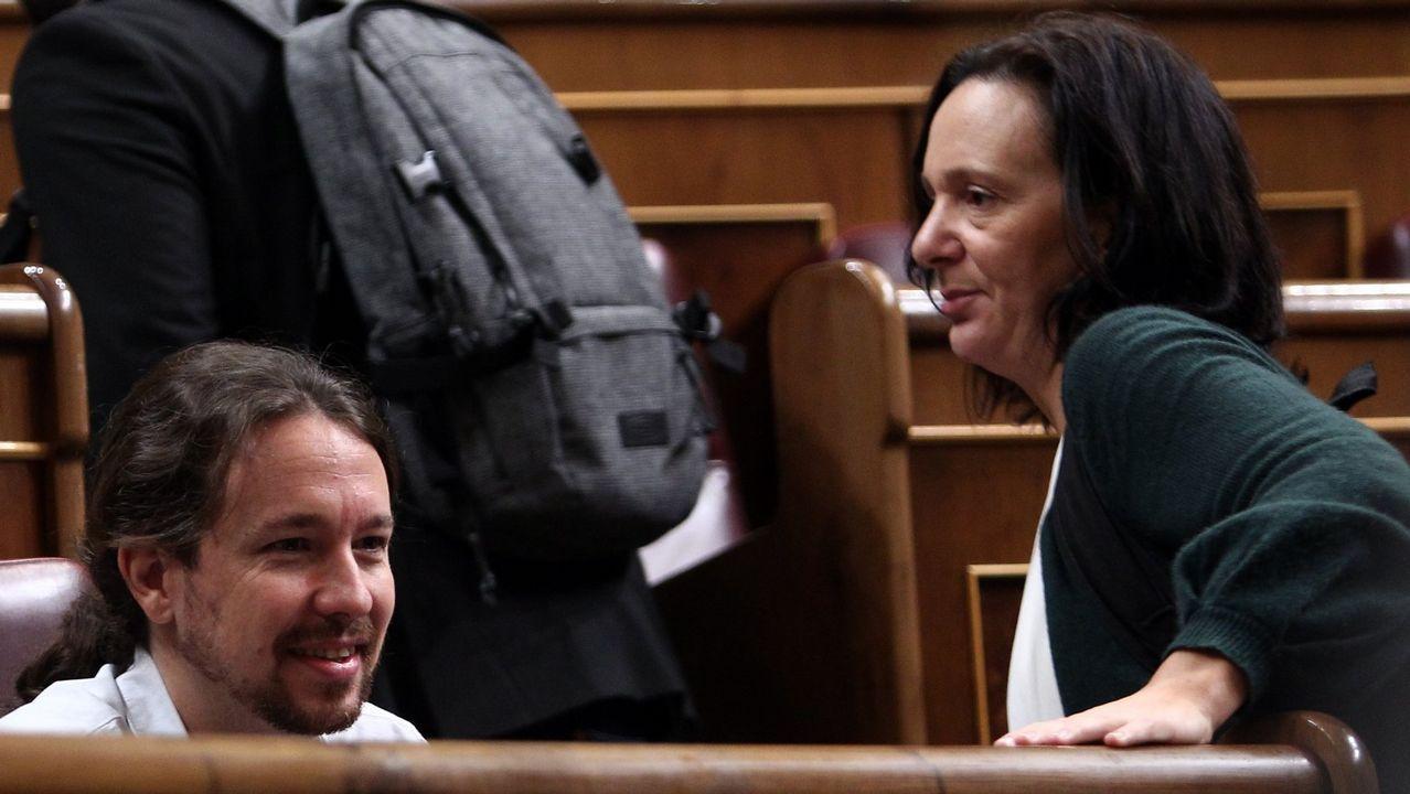 Bescansa: «Me gustaría un Podemos que hablase más a los españoles, que a los independentistas».Héctor Piernavieja