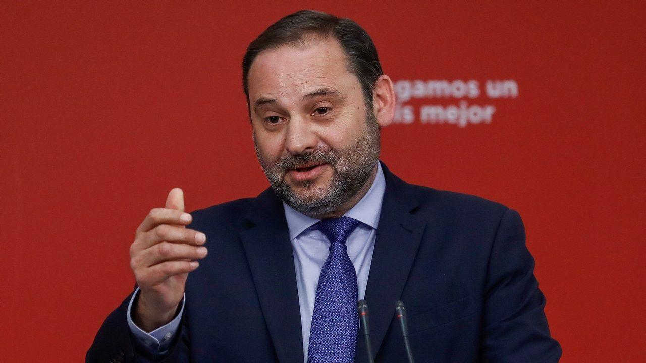 José Luis Ábalos, secretario de organización del PSOE, asumirá el ministerio de Fomento