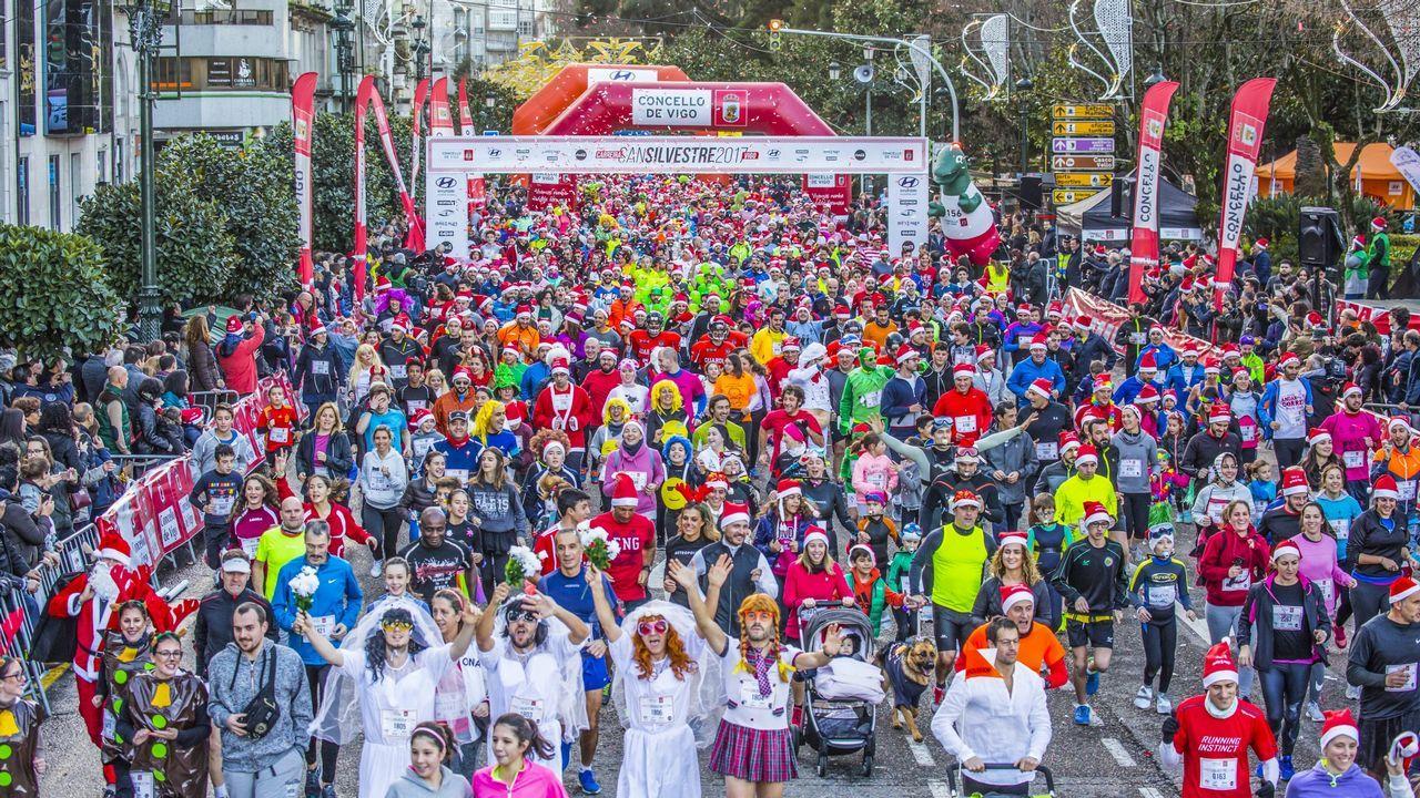 Santiago despide el 2018 corriendo
